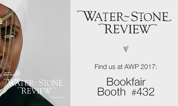 FInd Water~Stone Review at AWP 2017 booth 432