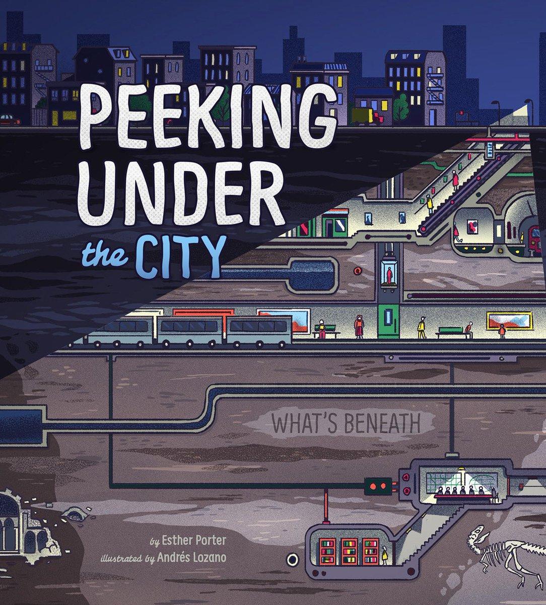 PEEKING UNDER THE CITY, Esther Porter